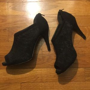 A. Marinelli Shoes - Black Lace Heels